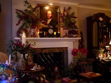 Little Downton Living Room Mantel