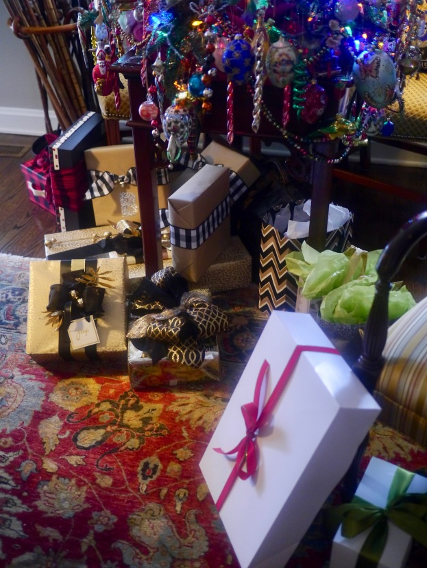 ...and still lots of gifts under the tree!