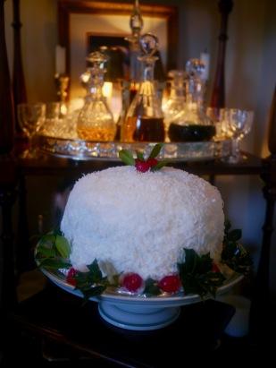 Fresh Coconut Cake