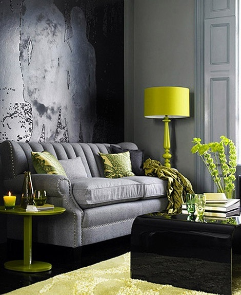 Pop-of-chartreuse-living-room