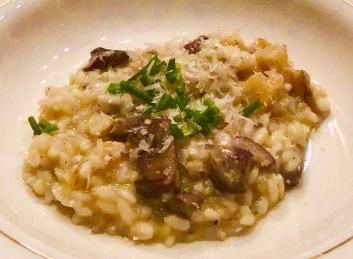 Artichoke Mushroom Risotto