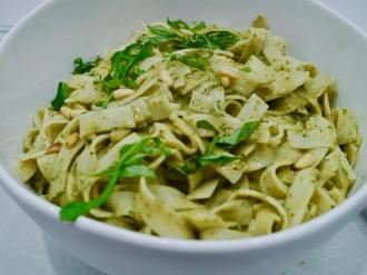 Pesto Fettucinni